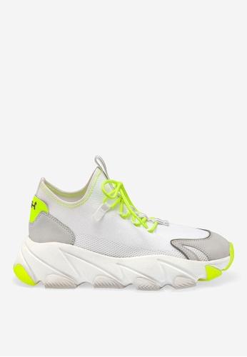 ASH white ASH Excape Sneakers - White 3EB47SHD34415BGS_1