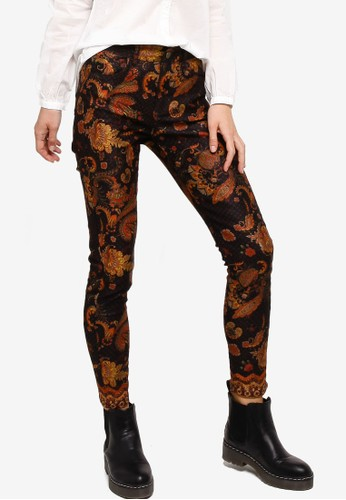 Desigual black and multi Miver Pants BBBB5AA2FFA202GS_1