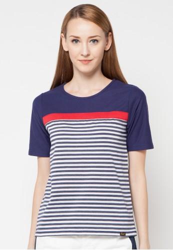 Gaff navy Top Stripe GA640AA60NGXID_1