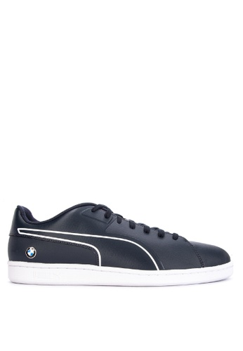 Puma blue BMW Motorsport Court Sneakers 86C57SH1C9AEBDGS_1