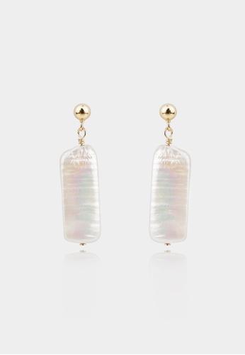 monojewelry BIWA PEARL EARRINGS CB990ACD4C51EFGS_1