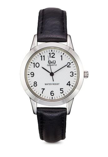 Q&Q Q947J304Y 細帶仿皮數字錶, 錶類, 休閒esprit outlet 台中型