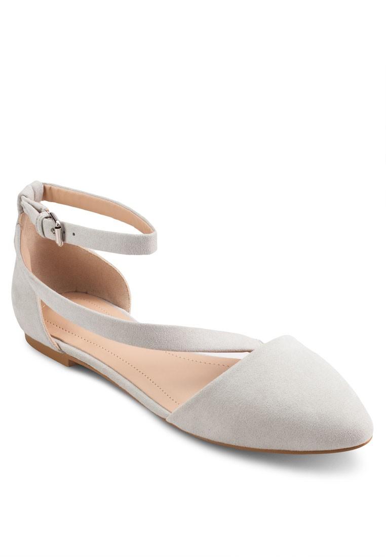 Basic Ankle Strap Ballerinas