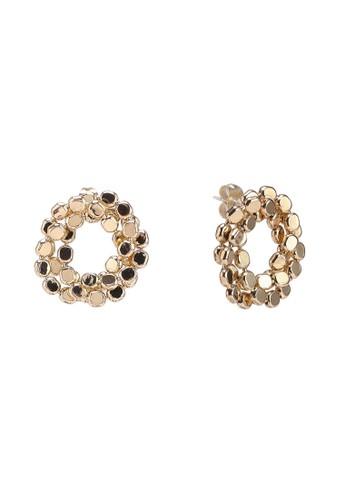 Pieces gold Kiara Earrings 91F99ACB1E98FDGS_1
