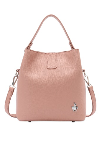 Swiss Polo pink Top Handle Sling Bag BD39EAC9ECABB2GS_1