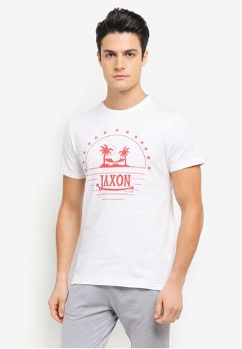 JAXON white Aloha Tee 69B0BAA98830CEGS_1
