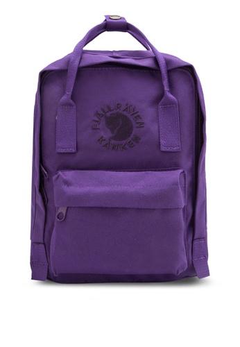Fjallraven Kanken purple Deep Violet Re-Kanken Mini Backpack FJ382AC86ZNPMY_1
