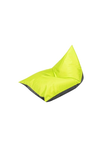 doob black and green PLATOOPAT - dumpling-shaped doob bean bag lounger (Cola Apple) B30B1HL6A50E88GS_1
