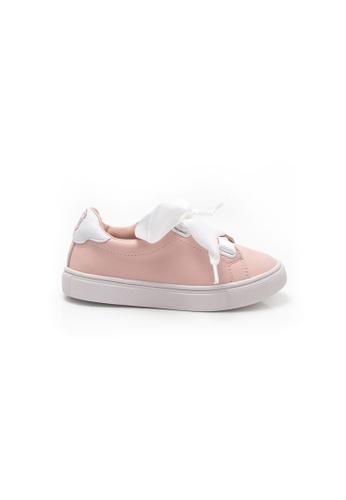 Elisa Litz 粉紅色 双胞胎星星双色运动鞋 - 儿童 - 粉色 8C624KSA58D5FDGS_1