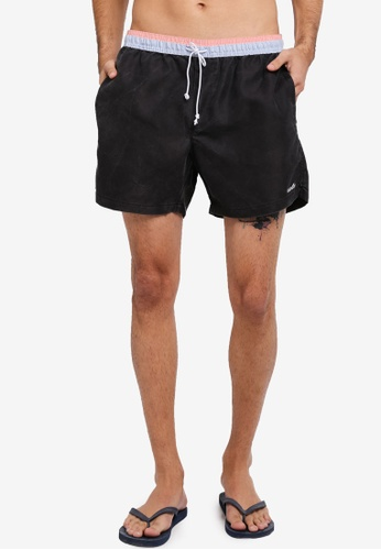 Cotton On black and blue Swim Shorts CO372AA0SS9VMY_1