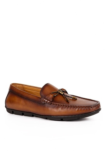 Twenty Eight Shoes Cristoforo Vintage Leather Loafers BL09-2 BDFE7SH4E300CAGS_1
