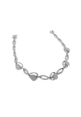 GOLDHEART GOLDHEART Bracelet, Diamond White Gold 750 (B0729/B0729A) 9F388ACBC96DF6GS_1