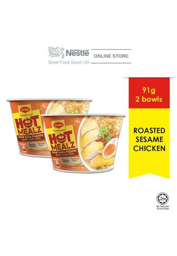 NESTLE MAGGI Hot Mealz Roasted Sesame Chicken x2 bowls D4588ES21AE3D1GS_1
