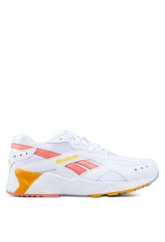 f4f56e56bd0a Reebok white and multi Classic Aztrek Mid Bright Pop Shoes  8F00FSH0FD9702GS 1