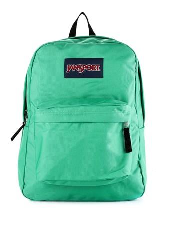 JanSport green Superbreak 3302BAC4B1813FGS_1