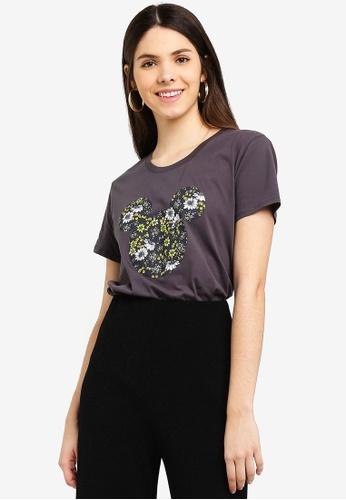Cotton On black Tbar Fox Graphic T-Shirt 8F275AAD38EDB2GS_1