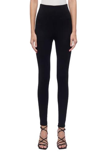ck Calvin Klein 黑色 輕薄緊身褲 DDE42AA456C879GS_1