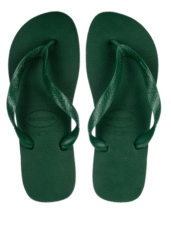 Havaianas green Top Flip Flops 67FBCSH401C9EDGS_1