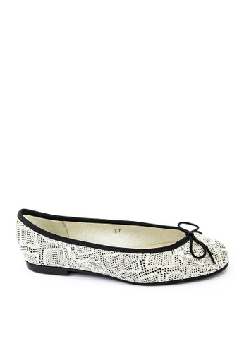 Covet beige French Sole Henrietta Ballet Flats CO331SH15EAIPH_1