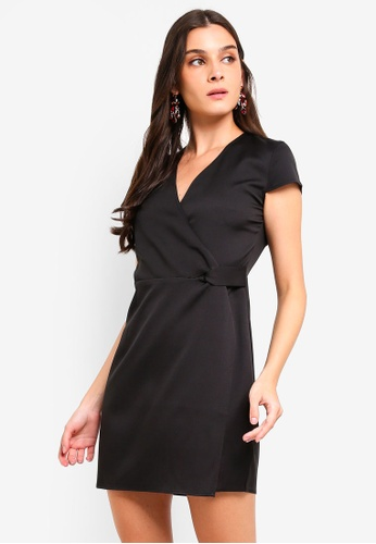 066eb7120674 Shop ZALORA Twist Detail Semi Formal Dress Online on ZALORA Philippines