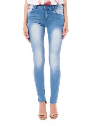 Lee Cooper blue Lee Cooper Women s PEARL PETIT Skinny Jeans enzyme bleach  CBC4FAA373383DGS 1 8cedb10688
