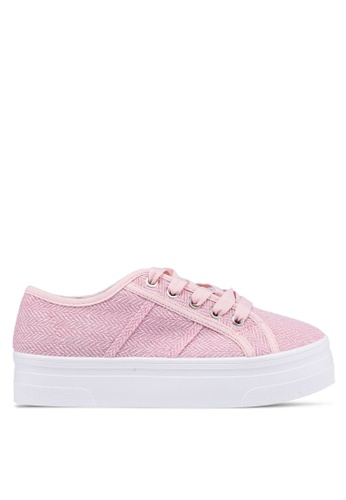 Rubi pink Willow Platform Sneakers 76079SH821CC42GS_1