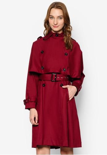 披肩salon esprit層風衣外套, 服飾, 服飾