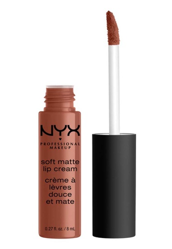 NYX Professional Makeup brown NYX Professional Makeup Soft Matte Lip Cream - LEON 20A1ABE7CCB6E6GS_1