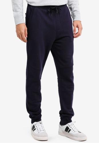 Calvin Klein navy Homer 4 Slim Jogger Pants - Calvin Klein Jeans 01C76AAB46B499GS_1