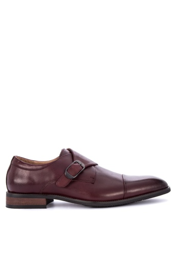 Gibi red Wax Formal Shoes 4A01ASH104311EGS_1