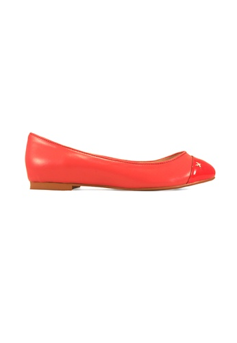 Gripz pink Smooth Round Toe Ballet Flats GR357SH21BCWSG_1
