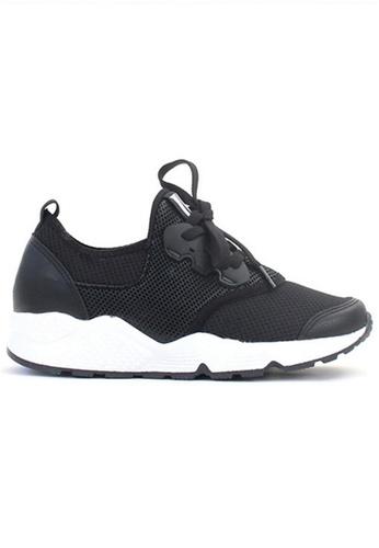 Crystal Korea Fashion black Korean With Comfortable Breathable Casual Shoes 5A151SH5E99049GS_1
