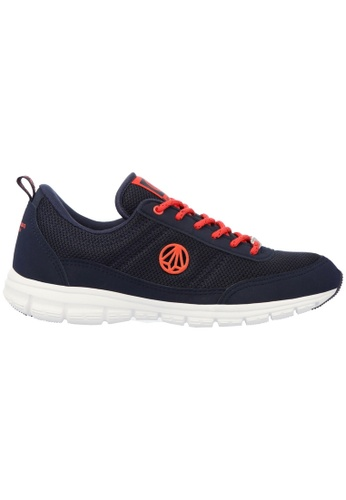 paperplanes navy Paperplanes-1201 Super Light Weight Mesh Walking Sneakers Shoes US Women Size PA355SH90PMZSG_1