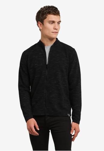 Indicode Jeans 黑色 Yahir Light Knit Zipped Sweater IN815AA0RHREMY_1