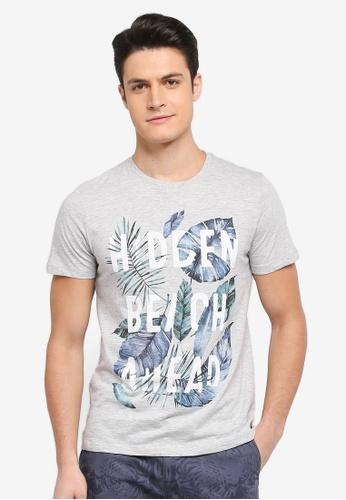 ESPRIT grey Short Sleeve T-Shirt 94D18AAE309CE7GS_1