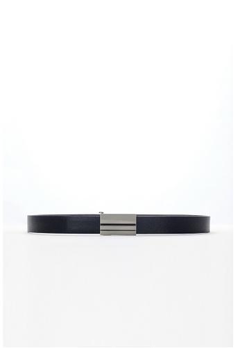Life8 black Formal Automatic Buckle Leather Belt-05323-Black 606D4ACD26E1D4GS_1
