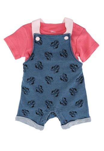 FOX Kids & Baby blue Light Denim Short Sleeve Romper Set C170EKA3321017GS_1