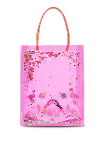 Du Pareil Au Même (DPAM) pink Pink Bag 7D25FKC6B624E2GS_1