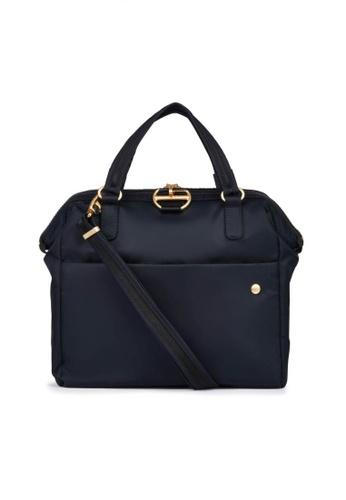 Pacsafe black Pacsafe Citysafe CX Anti-Theft Satchel Bag (Black) 454B8ACC692C63GS_1