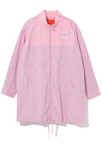 tout à coup pink Drawstring thin jacket 9A93CAA77B2618GS_1