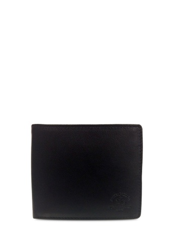 Santa Barbara Polo & Racquet Club black Santa Barbara Polo & Racquet Club Leather Bifold Wallet A0100ACE52D820GS_1