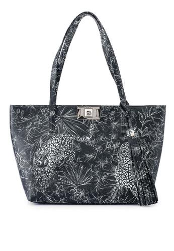 Furla black Furla Mimi' M Tote Bag E2BFAAC01EC874GS_1