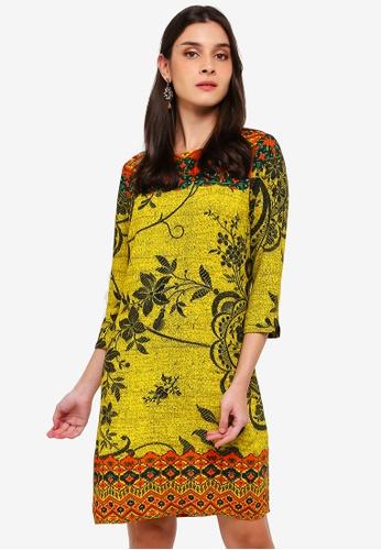 d4ae4018f9eed9 Buy Desigual Astrid Straight Dress Online on ZALORA Singapore