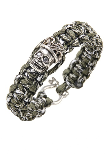 HAPPY FRIDAYS Skull Paracord Bracelet QNW2481 3037BAC9DA08F7GS_1