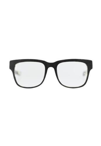 A Bathing Ape black Designer Optical Frames AB029AC15ANSSG_1