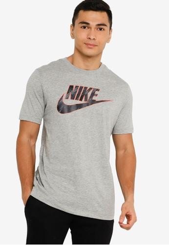 Nike grey As Men Nsw Tee 0AAC4AA55DD316GS_1