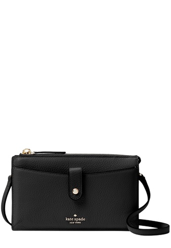 Kate Spade black Kate Spade Jackson Small Tab Crossbody Bag in Black 7A99AAC0D02A8EGS_1