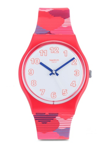 Swatch red Heart Lots Watch 61F6EAC4D57EF8GS_1