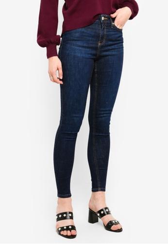 Miss Selfridge blue Dark Blue Skinny Fit Lizzie Jeans 75C92AAD8A43B8GS_1