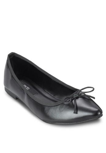 Maddi 尖頭蝴蝶結平底鞋esprit暢貨中心, 女鞋, 鞋